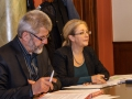 Bürgermeister B. Pohlers und Regionalmanagerin Dr. Kersten Kruse